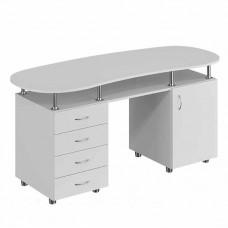 Маникюрный стол Сакура - белый