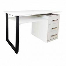Маникюрный стол Лофт - белый