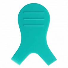Аппликатор V-образной формы для фиксации ресниц, бирюзовый