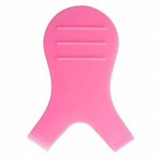 Аппликатор V-образной формы для фиксации ресниц, розовый