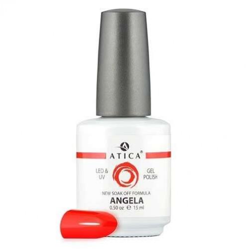 Гель лак Атика № 124 Angela 15 мл