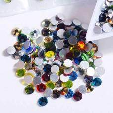 Кристаллы цветные Микс ss3, 1440 штук