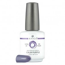 Гель лак Атика № 034 Calm Purple 7,5 мл
