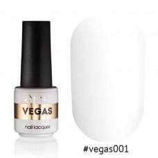 Гель лак Vegas 6 мл № 001