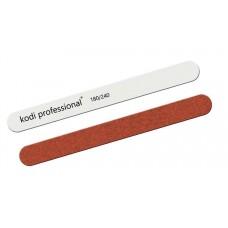 Пилка для ногтей прямая White/Brown 180/240