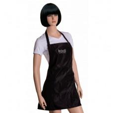 Фартук Kodi professional короткий (цвет черный серебристые буквы)