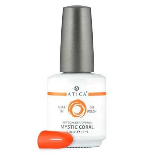 Гель лак Атика № 046 Mystic Coral 7,5 мл