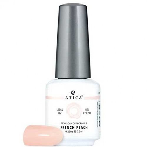 Гель лак Атика № 089 French Peach 7,5 мл