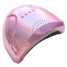 SUNone 48/24W лед-лампа для геля и гель-лака с сенсором, зеркальная розовая