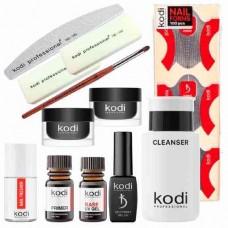 Стартовый набор для наращивания ногтей гелем Kodi Professional