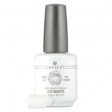 Гель лак Атика № 001 Ice White 15 мл