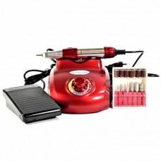 Фрезер для маникюра и педикюра DM-208 красный