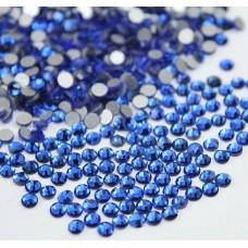 Кристалы Sapphire (сапфир) ss3 для маникюра, 100 шт