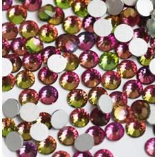 Кристалы Rainbow (радуга) ss3 для маникюра, 100 шт