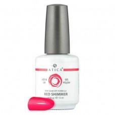 Гель лак Атика № 009 Red Shimmer 7,5 мл