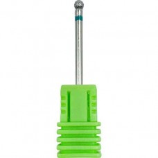 Насадка алмазная шарообразная, зеленая, 3 мм