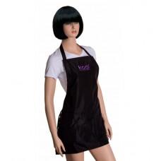 Фартук Kodi professional короткий (цвет черный фиолетовые буквы)