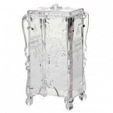 Подставка-органайзер для безворсовых салфеток, прозрачная