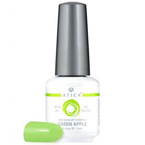 Гель лак Атика № 172 Green Apple 7,5 мл