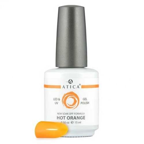 Гель лак Атика № 062 Hot Orange 7,5 мл
