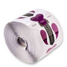 Формы для наращивания ногтей, стилет фиолетовый, 100 шт.