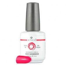 Гель лак Атика № 009 Red Shimmer 15 мл