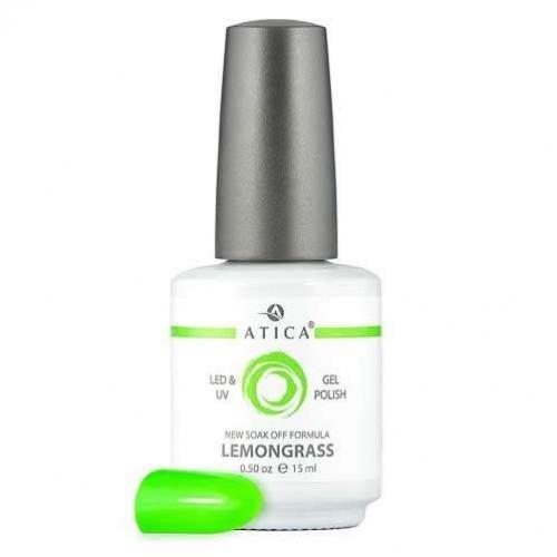 Гель лак Атика № 040 Lemongrass 15 мл