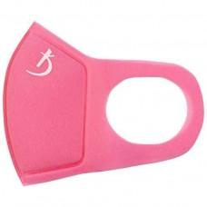 Маска защитная двухслойная из неопрена без клапана, розовая с логотипом