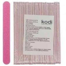 Набор пилок для ногтей 120/120, розовые, 50 шт