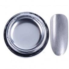 Металлизированный гель для дизайна ногтей, серебро, 6 мл