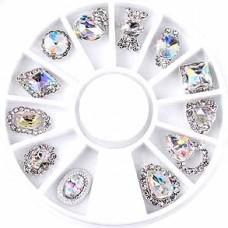 Кристалы ювелирные для ногтей
