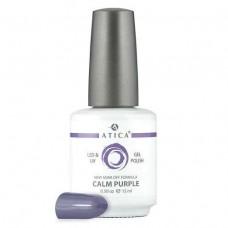 Гель лак Атика № 034 Calm Purple 15 мл