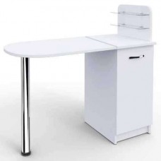 Маникюрный стол Практик компакт складной, белый