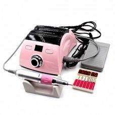 Профессиональный фрезер для маникюра и педикюра  ZS-710, 65 Ват, розовый