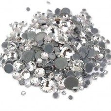 Кристалы Crystall MIX ss3-ss12 для маникюра, 1440 шт