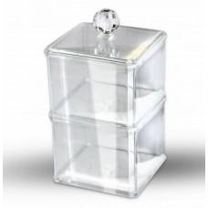 Органайзер пластиковый квадратный двойной
