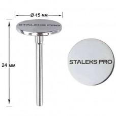 Педикюрный диск Staleks PRO S, 15 мм (PDset-15)