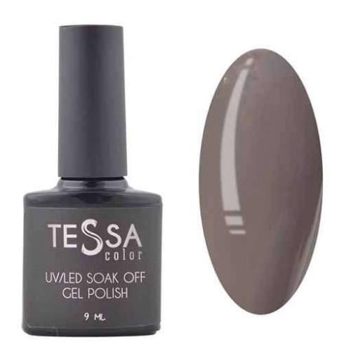 Гель-лак Tessa 9 мл № 072 - темно-серый