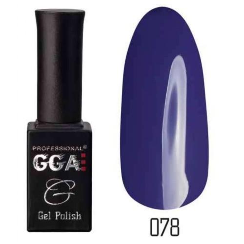 Гель лак GGA Professional 10 мл № 078