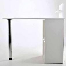 Маникюрный стол Мини, складной, белый