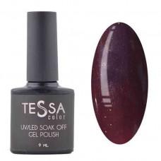 Гель-лак Tessa 9 мл № 033 - темно-бордовый