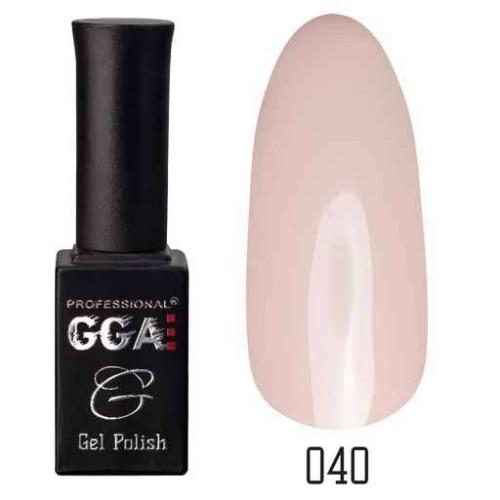 Гель лак GGA Professional 10 мл № 040