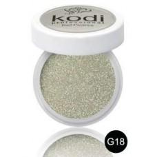 """Цветной акрил """"KODI Professional"""" 4,5 г. G - 18"""