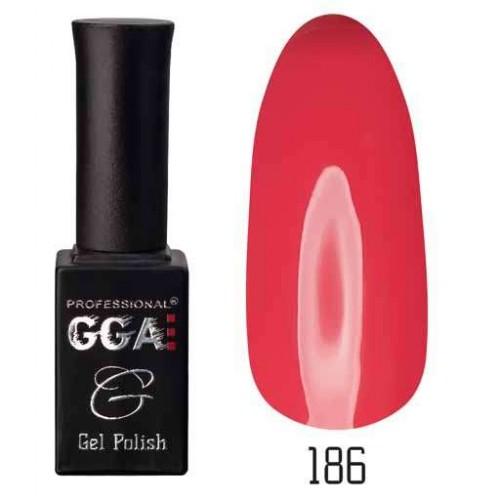 Гель лак GGA Professional 10 мл № 186