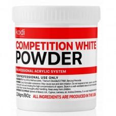 Быстроотвердеваемый акрил KODI Professional (Compatition White Powder) 224 гр.
