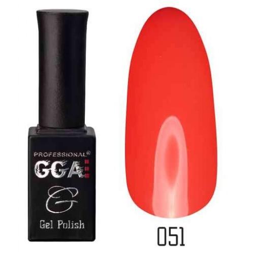 Гель лак GGA Professional 10 мл № 051