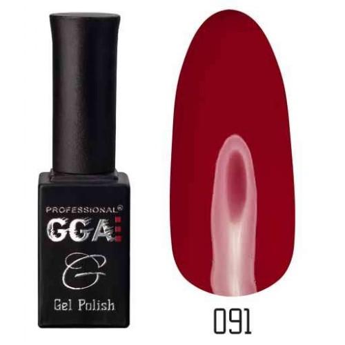 Гель лак GGA Professional 10 мл № 091