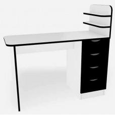 Маникюрный стационарный стол Аврора, черный