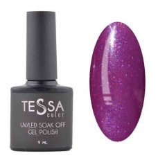 Гель-лак Tessa 9 мл № 056 - фиолетовый с шиммером