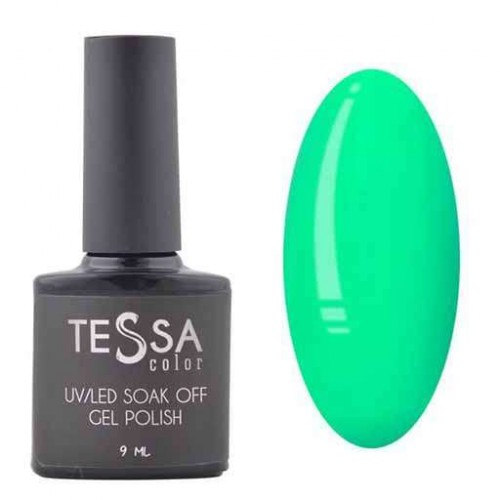 Гель-лак Tessa 9 мл № 077 - зеленый